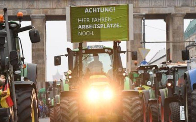 Mein Thema der Woche: Bauern-Demo
