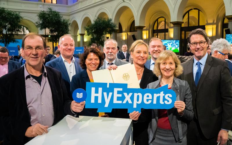 20 Millionen Euro vom Bund für die Zukunftstechnologie Wasserstoff